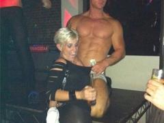 THEASSGIRL and Male Stripper