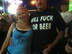 Will Fuck For Beer