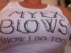 My Ex Blows And Now So Do I Shirt