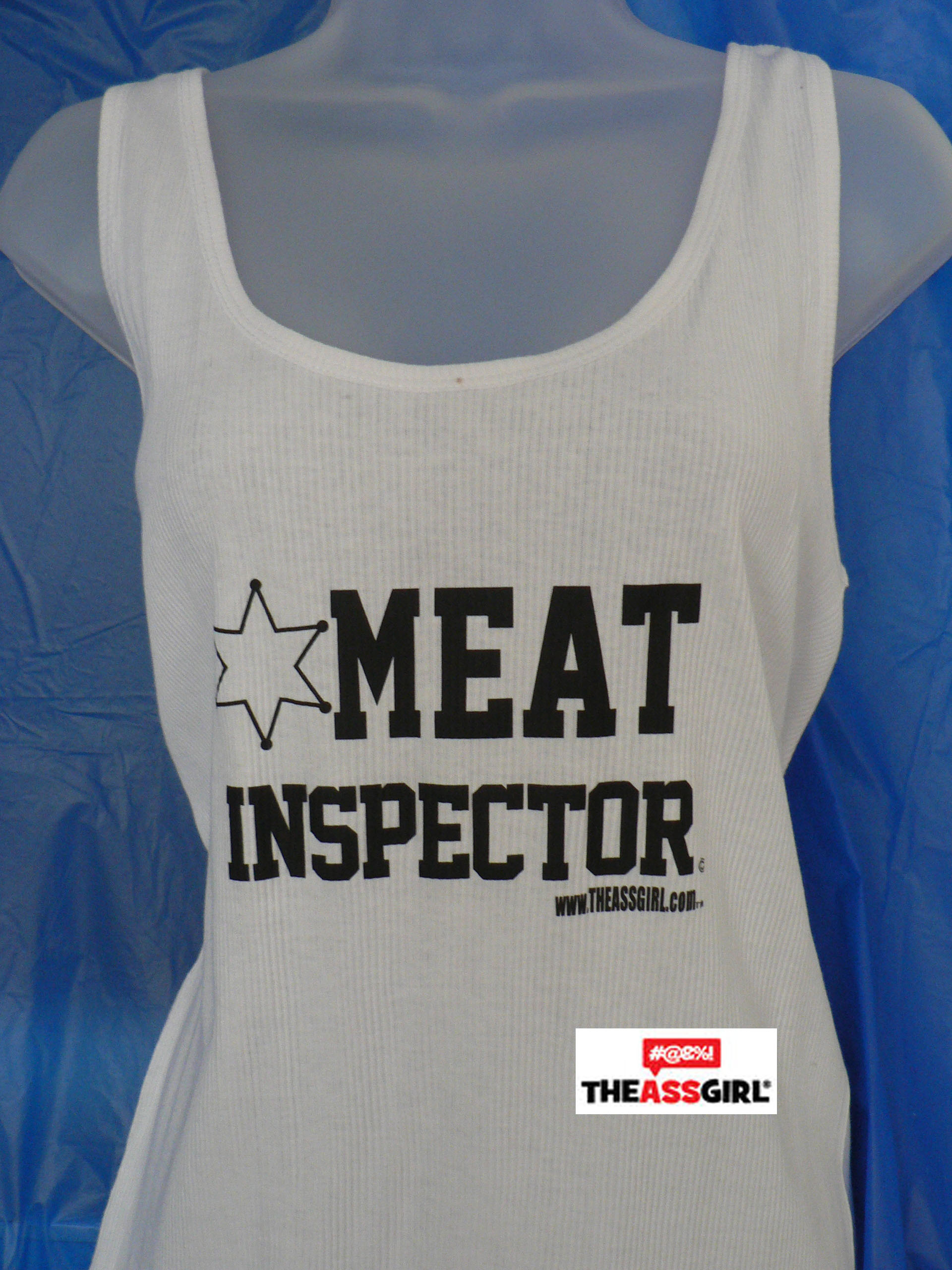 Meat Inspector Tank Top