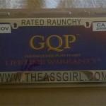 Ass Girl Plates