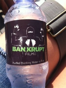 Bankrupt Films Water Bottle