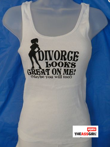 Divorce Looks Great On Me Maybe You Will Too Tank Top