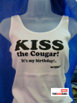 KISS The Cougar It's My Birthday tank-top
