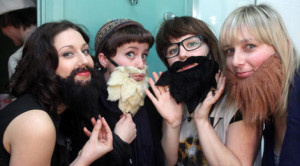 Ladies Sporting Beards