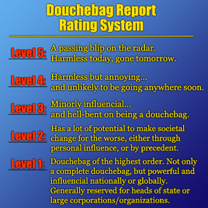 DoucheBag Report