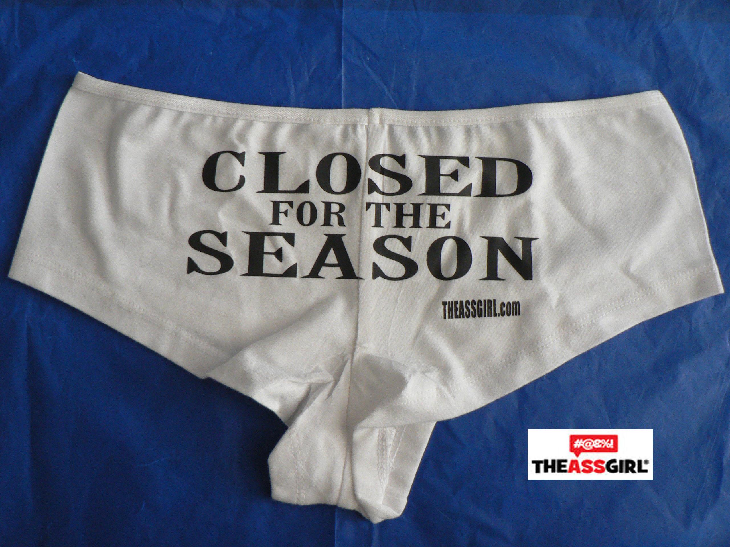 Closed For The Season Boyshort