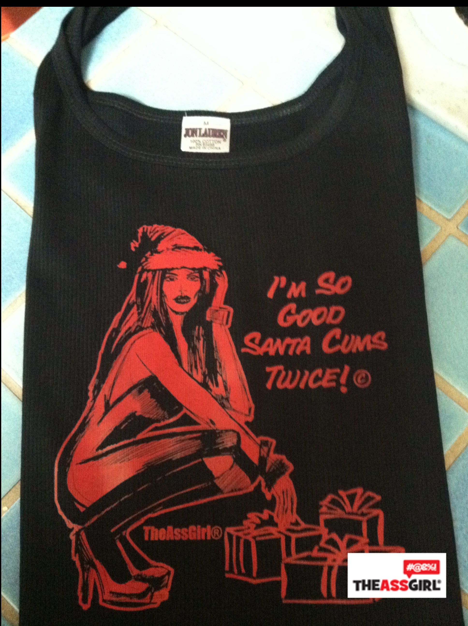 TheAssGirl Christmas Tank Top
