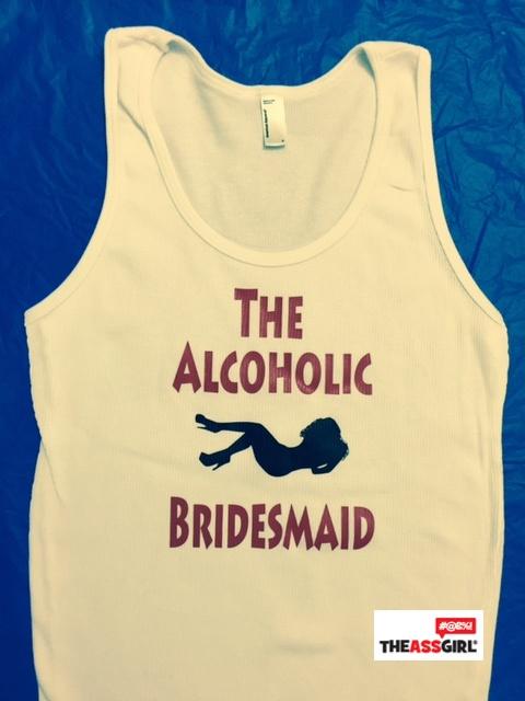 The Alcoholic Bridesmaid Tank Top