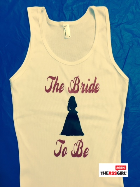 The Bride To Be Tank Top