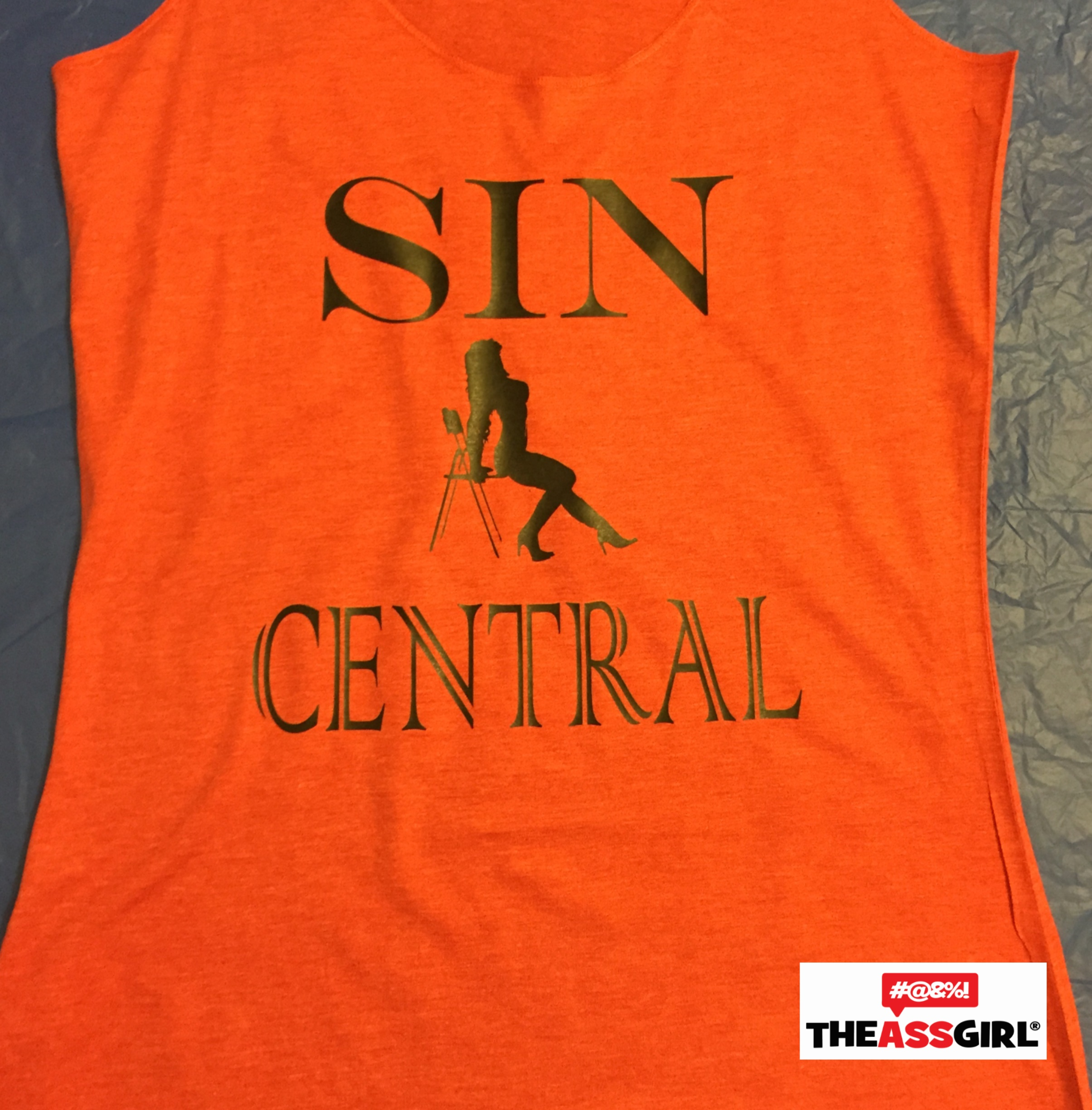 Sin Central Tank Top