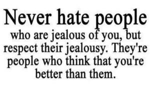 respect the jealous