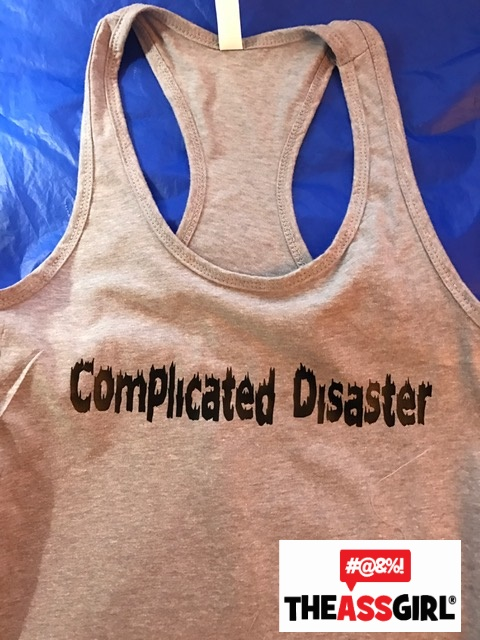 Complicated Disaster Tank Top