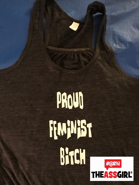 Proud Feminist Bitch Tank Top