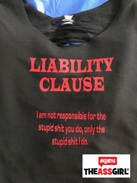 Liability Clause Scoop Shirt